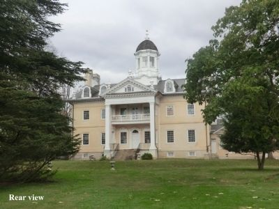 Ridgely Mansion-rear view image. Click for full size.
