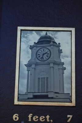Bellaire High School Clock Tower photo image. Click for full size.