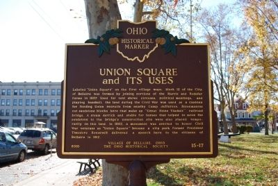 Union Square and its Uses Marker image. Click for full size.