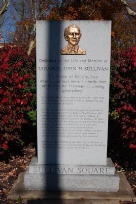 Dedicated to the Life and Memory of Colonel John H Sullivan Marker image. Click for full size.