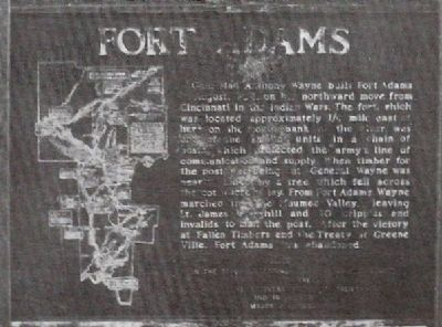 missing Fort Adams Marker image. Click for full size.