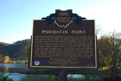 Powhatan Point Marker image. Click for full size.