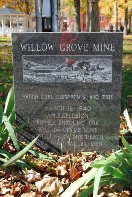 Willow Grove Mine Marker image. Click for full size.