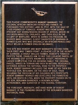 Robert Bannaky Marker image. Click for full size.