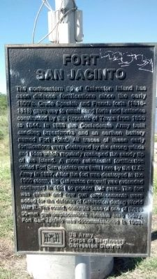 Fort San Jacinto Marker image. Click for full size.