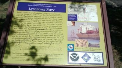 Lynchburg Town Ferry image. Click for full size.