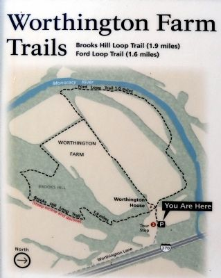 Trails Map<br>You Are Here image. Click for full size.