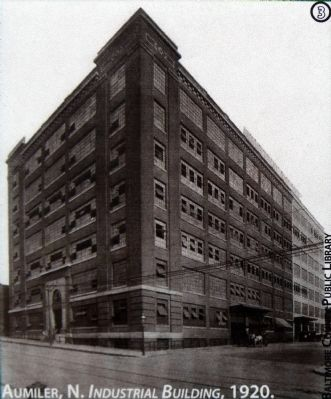 Aumler, N. Industrial Building, 1920 image. Click for full size.