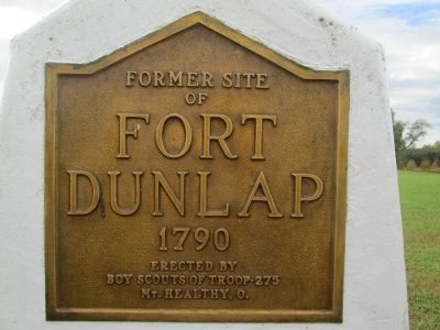 Dunlap's Station Marker image. Click for full size.