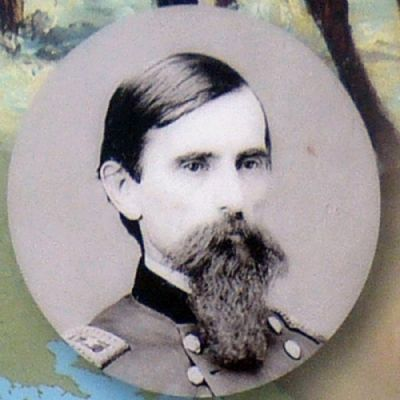 Major General Lew Wallace<br>Union Commander<br> at the Battle of Monocacy image. Click for full size.