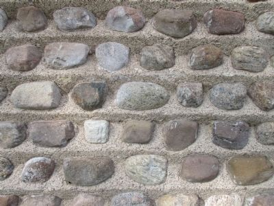 Cobblestone School Masonry image. Click for full size.