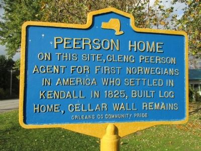 Peerson Home Marker image. Click for full size.