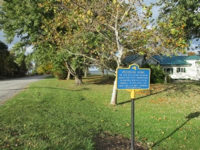 Peerson Home Marker - Northward image. Click for full size.