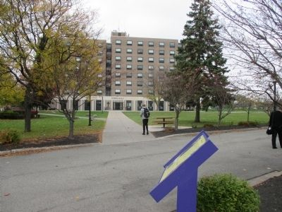 O'Shea Hall - Northward from the Marker image. Click for full size.