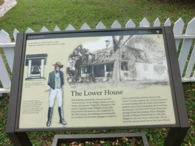The Lower House Marker image. Click for full size.