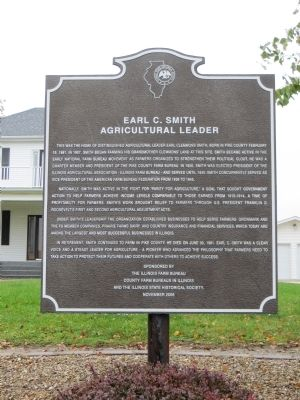 Earl C Smith Marker image. Click for full size.