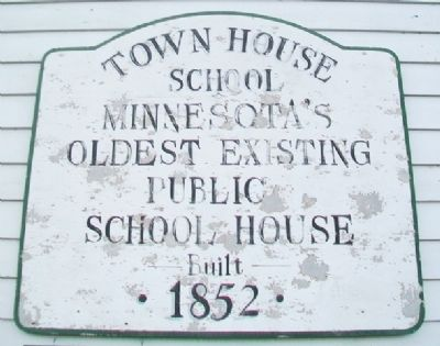 Town House School Marker image. Click for full size.