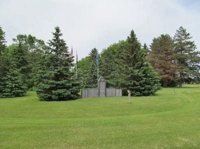 Forest City War Memorial image. Click for full size.