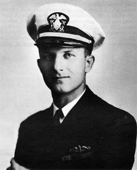 Commander Maximilian G. Schmidt<br>Commander of the USS Scorpion (SS-278) image. Click for full size.