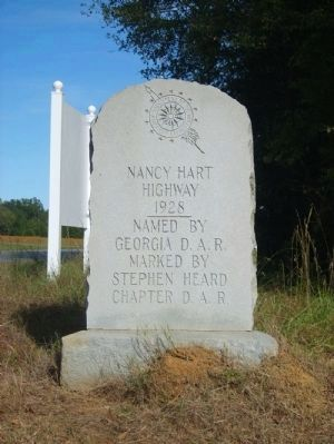 Nancy Hart Highway Marker<br>Erected 1928 image. Click for full size.