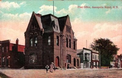 <i>Post Office, Annapolis Royal, N.S.</i> image. Click for full size.