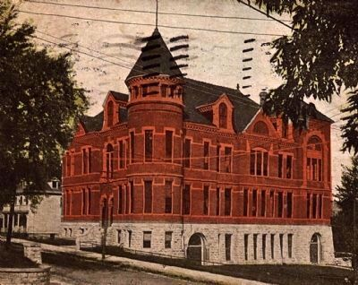 <i>Stillwater High School</i> - Historical Postcard View image. Click for full size.