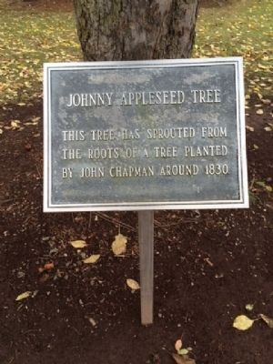 Johnny Appleseed Tree Marker image. Click for full size.