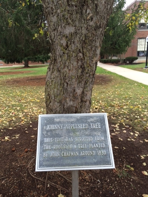 Johnny Appleseed Tree Marker
