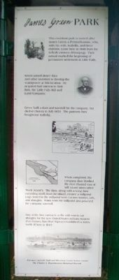 James Green Park Marker image. Click for full size.