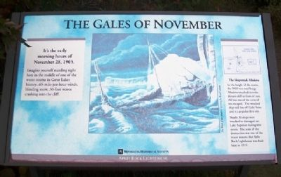 The Gales of November Marker image. Click for full size.