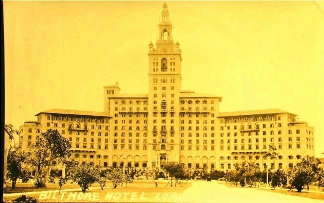 <i>Biltmore Hotel, Coral Gables</i> image. Click for full size.