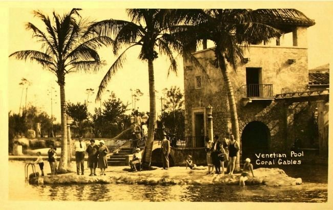 <i>Venetian Pool, Coral Gables</i> image. Click for full size.