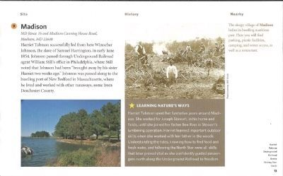 Driving Tour-Harriet Tubman Underground Railroad Byway image. Click for full size.