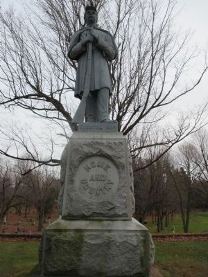 Home and Country Civil War Memorial image. Click for full size.