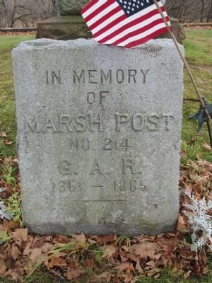 Marsh Post G.A.R. Memorial image. Click for full size.