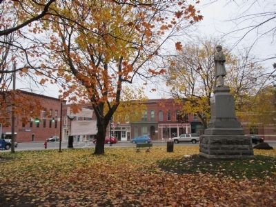 Canton Civil War Memorial image. Click for full size.