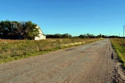 View to South Along County Road 107 image. Click for full size.