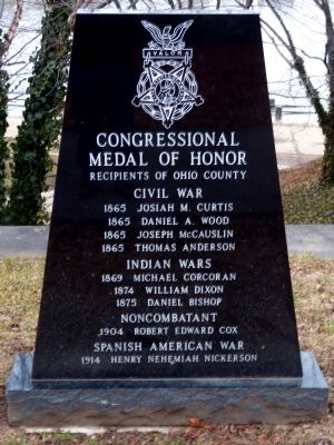 Congressional Medal of Honor Marker image. Click for full size.