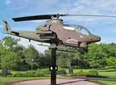 Bell AH-1S Huey Cobra Attack Helicopter image. Click for full size.