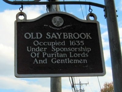 Old Saybrook Marker image. Click for full size.