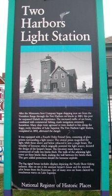 Two Harbors Light Station Marker image. Click for full size.