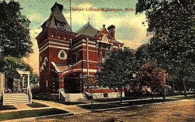 <i>Ladies Library, Kalamazoo, Mich.</i> image. Click for full size.