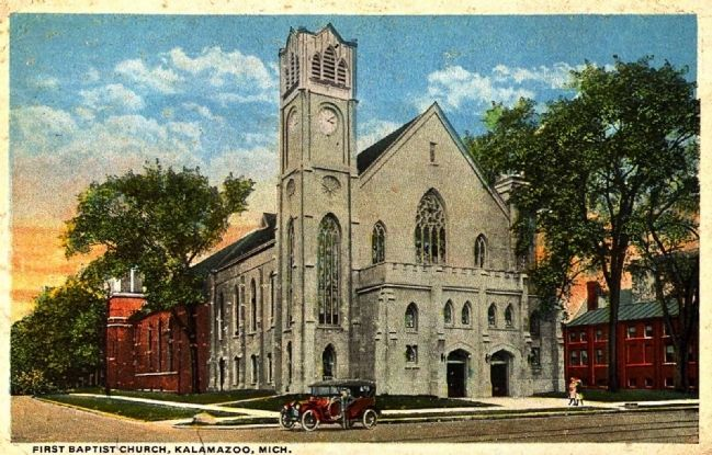 <i>First Baptist Church, Kalamazoo, Mich.</i> image. Click for full size.