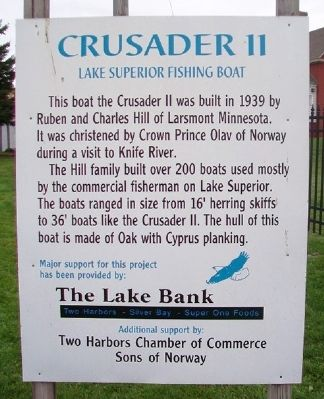 Crusader II Marker image. Click for full size.