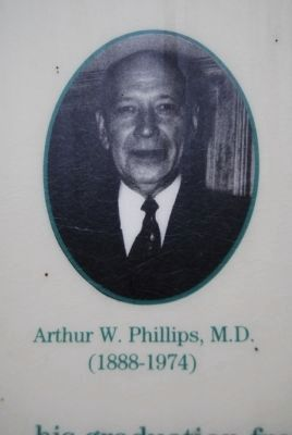 Arthur W. Phillips, M.D. image. Click for full size.