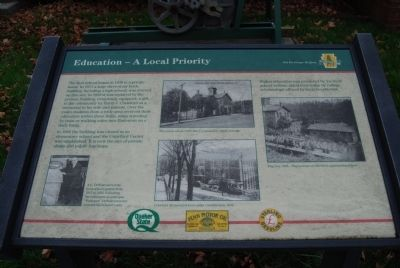 Education - A Local Priority Marker image. Click for full size.