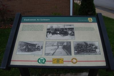 Emlenton at Leisure Marker image. Click for full size.