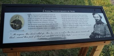 A Farm Transformed by War Marker image. Click for full size.
