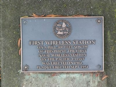 New First Wireless Station Marker image. Click for full size.