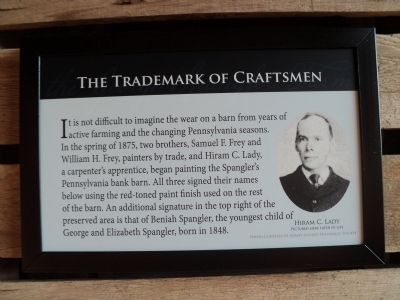 The Trademark of Craftsmen Marker image. Click for full size.